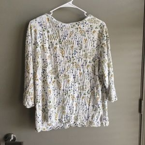 White Stag Tops - FLORAL TOP